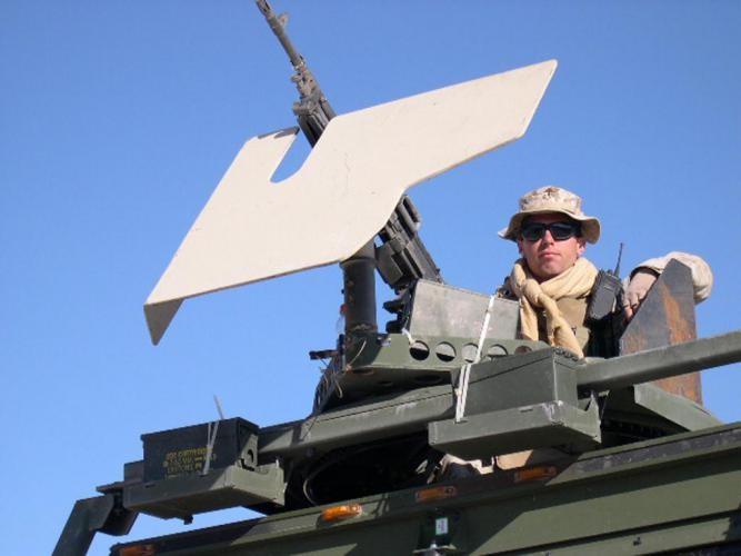 Joe-in-armored-vehicle