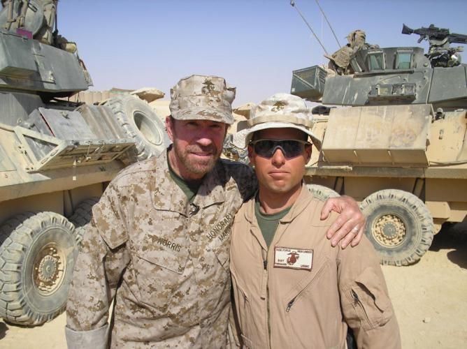 Joe-with-Chuck-Norris